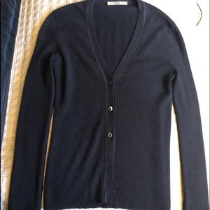 Prada Cashmere Sweater sz 38 Brown